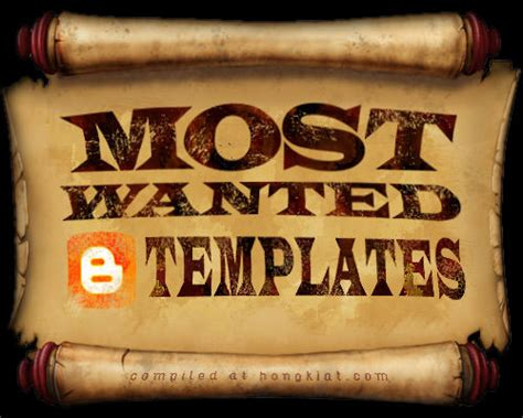 most wanted template 50 most wanted templates hongkiat