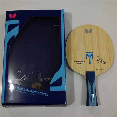 Butterfly Timo Boll Bat Bet Tenis Meja Pingpong jual kayu blade bet bat pingpong tenis meja butterfly timoboll alc warung olahraga