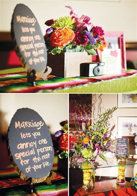 home decoration for engagement party colorful modern fiesta engagement party hostess with