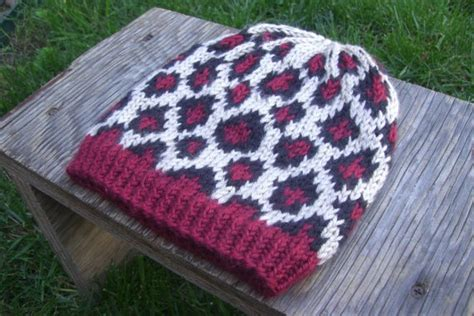 leopard pattern yarn hand knit leopard print cheetah hat knitting pinterest