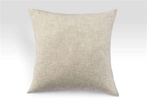 Linen Pillows by Linen And Cotton Tweedy Pillow Shams