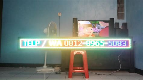Led Running Text Outdoor led running text rgb outdoor