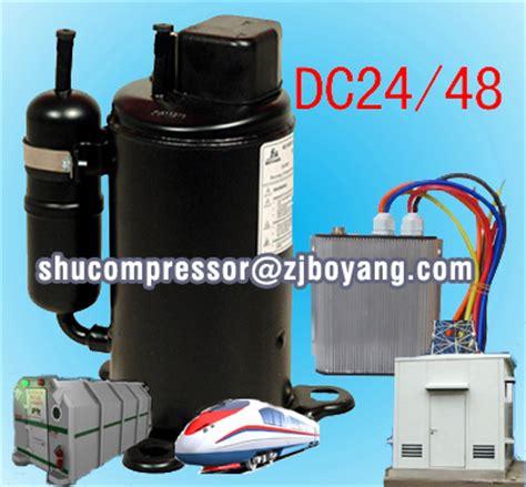 wholesale 12 volt rv air conditioner 24 48 volt ev motor compressor for solar air condition