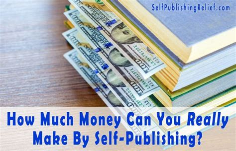 How Much Money Can You Really Make Taking Surveys Online - how much money can you really make by self publishing