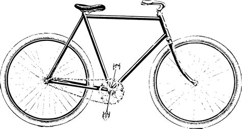 sketchbook png clipart style bicycle 1914