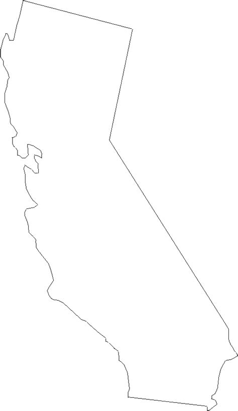 california map outline outline map of california image search results