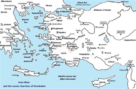asia minor map map of asia minor bible times pictures to pin on pinsdaddy