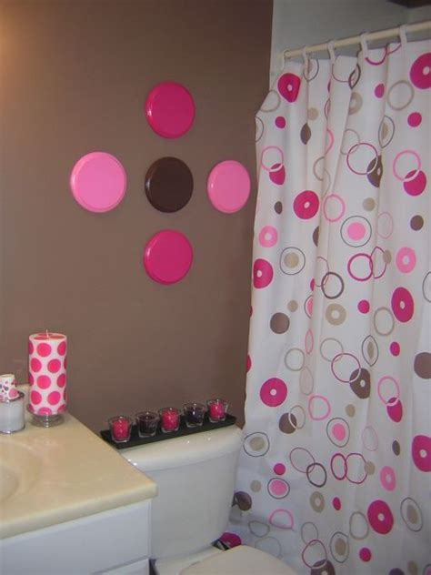pink and brown bathroom ideas pink and brown bathroom oooh girly yet modern i like