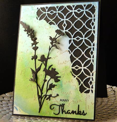 Sizzix Thinlits Dies Die Cut And Arrow Card 97 best sizzix thinlits wildflowers images on card ideas cardmaking and diy cards