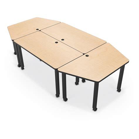 Modular Meeting Tables Modular Conference Tables Mooreco Inc Best Rite Balt Modular Conference Table