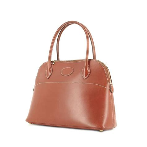 Handphone Hermes Mini Brown herm 232 s bolide handbag 256373 collector square