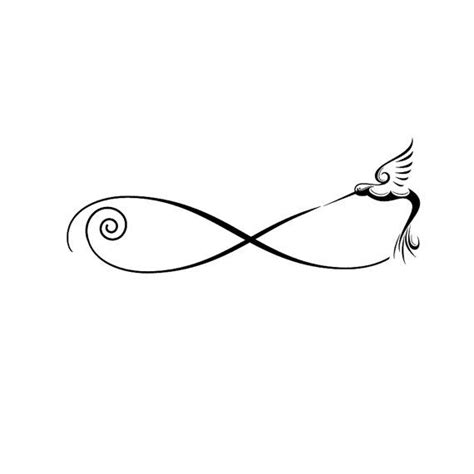 etsy tattoo designs hummingbird infinity design by theautumnrabbit on