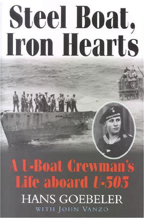 u boat books steel boat iron hearts u boat book u 505