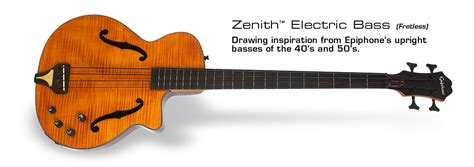 Elegant Home Design Ltd Products by Epiphone Zenith Bass