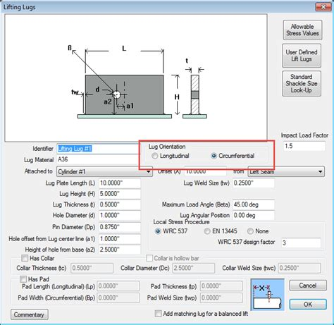 design criteria for lifting lugs codeware webinars questions