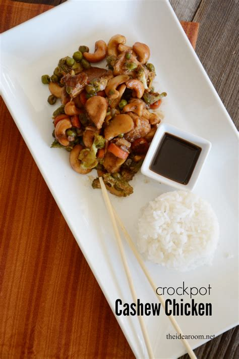 crock pot cashew chicken recipe the idea room