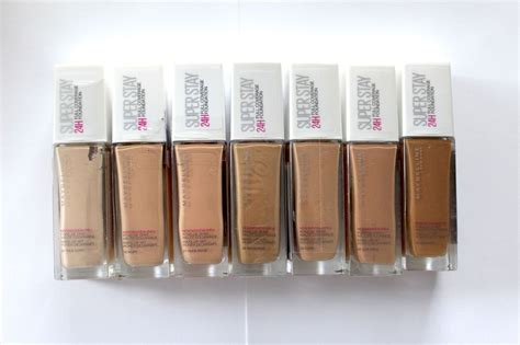 Maybelline Superstay 24hr Foundation new maybelline superstay 24h coverage foundation