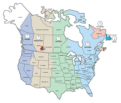 canadian map and time zones time zone map usa and canada my
