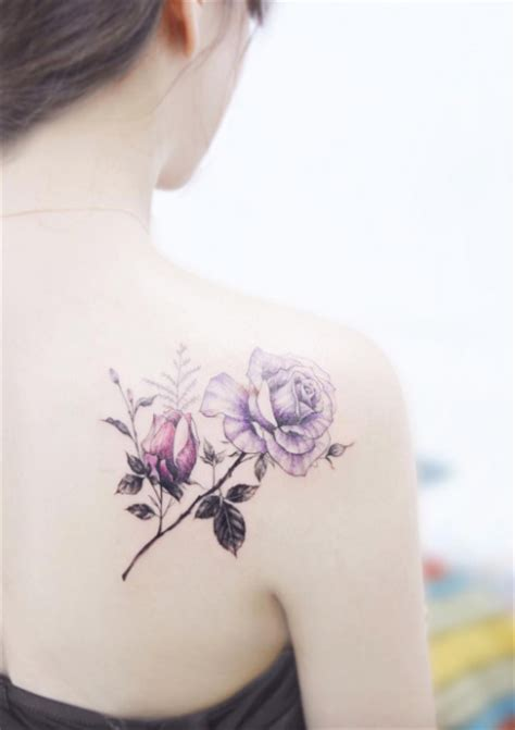 beautiful  shoulder tattoo designs tattooblend