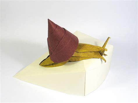 Origami Snail - snail