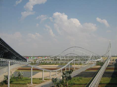 Ferrari Rollercoaster Abu Dhabi by Ferrari Abu Dhabi Roller Coaster Photos Information News
