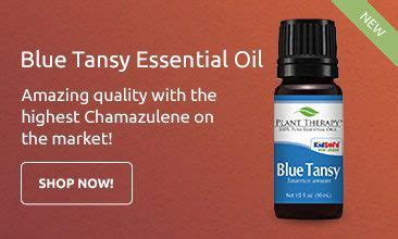 plant therapy blue tansy essential essential oils plant therapy