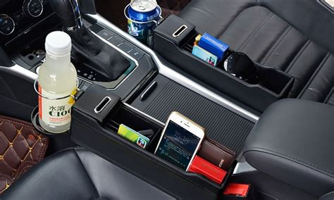 Car Seat Organiser Limited up to 63 on car crevice storage organizer groupon goods