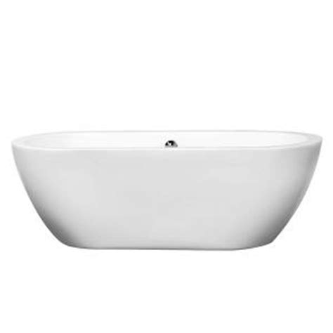 soaker bathtubs home depot wyndham collection soho 5 67 ft center drain soaking tub