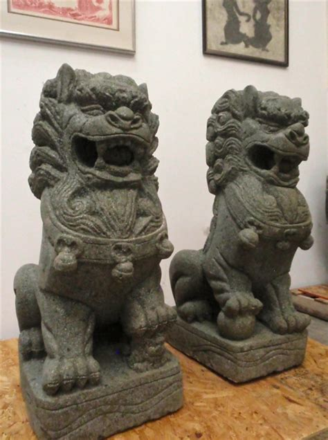 foo dogs 3ft large foo statues buddhist temple imperial
