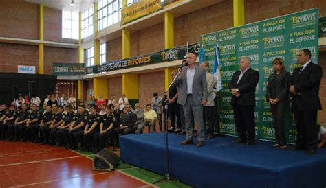 inscripcion a policia local de almirante brown qued 243 formalmente inaugurada la escuela de cadetes de la