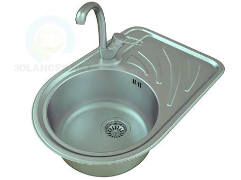 kitchen sink model 3d model kitchen sink 2 for free