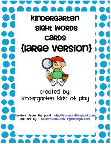 card for kindergarten kindergarten at play freebie kindergarten sight