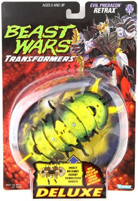 Transformers Beast Wars Deluxe Retrax deluxe class retrax transformers beast wars predacon transformerland collector s