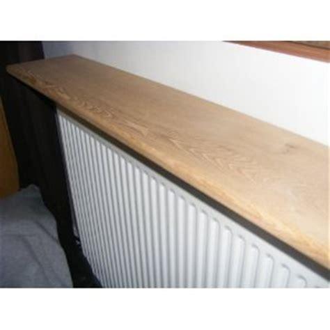 Radiator Shelf Oak by Solid Oak Floating Radiator Shelf 1700x150x35mm Co