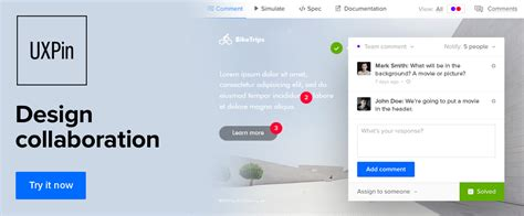 uxpin pattern library top prototyping tools you should consider using