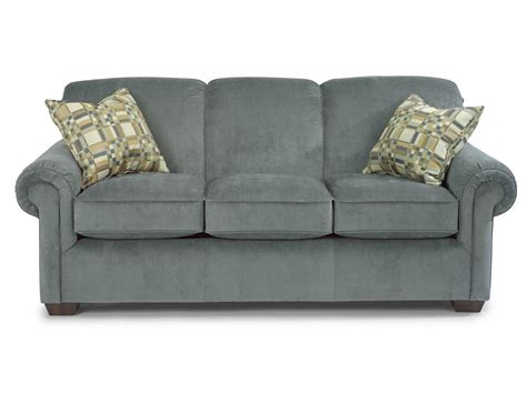 flexsteel living room fabric sofa 308895 signature