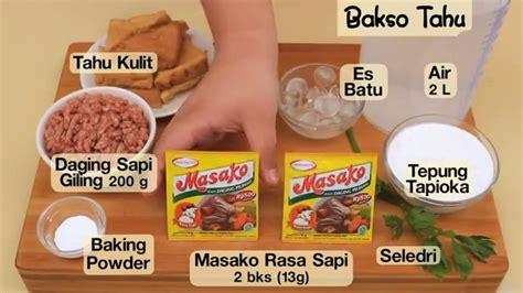 cara membuat kuah bakso ala dapur umami dapur umami bakso tahu youtube