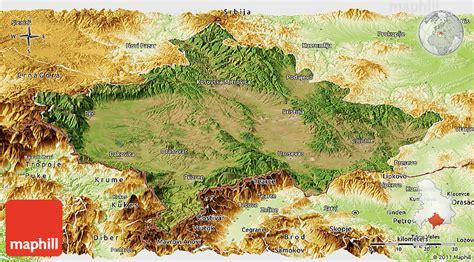 maps kosovo satellite satellite panoramic map of kosovo physical outside