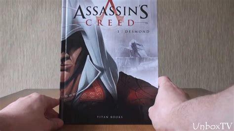 assassins creed volume 1 1782763074 обзор книги комикса assassin s creed vol 1 desmond youtube