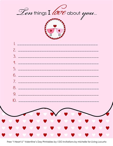 Printable Love Note Cards | free printable valentine cards love notes living locurto
