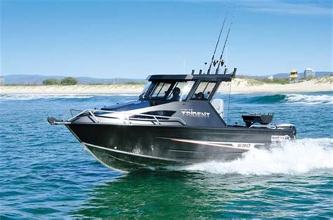 trident boats quintrex 690 trident hardtop review trade boats australia