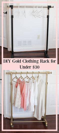 garment rack in bedroom diy garment rack perfect for the bedroom diy homedecor