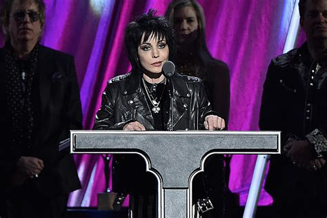 Rowdy Rockers At Of Fame Induction by Joan Jett Inducted Into Rock And Roll Of Fame