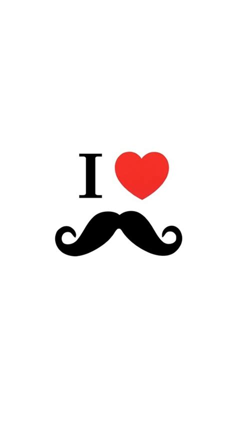 wallpaper for iphone 6 mustache 45 free hd quality cute iphone wallpapers background
