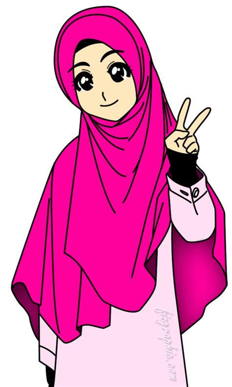 anime hijab gaul muslimah islamiah pinterest muslim islamic and islam