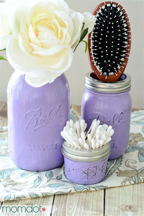 diy decorations crafts diy painted jars tutorial momdot