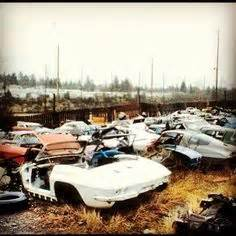 boat salvage yard seattle corvette junkyard quot lincoln s salvage quot from the seattle