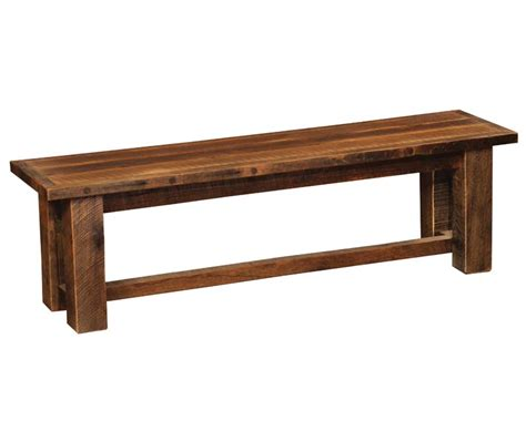 barnwood bench western benches free shipping