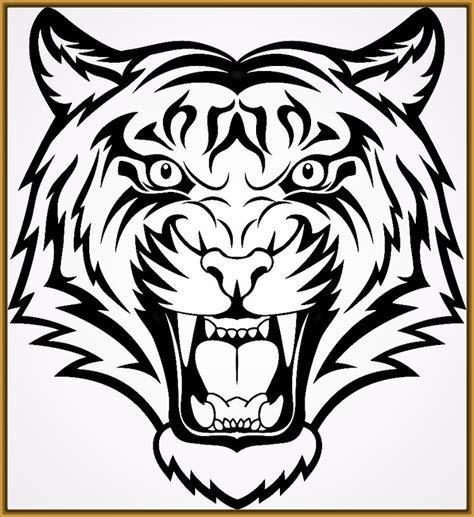 imagenes de tigres faciles para dibujar caras de tigres para dibujar a lapiz archivos fotos de