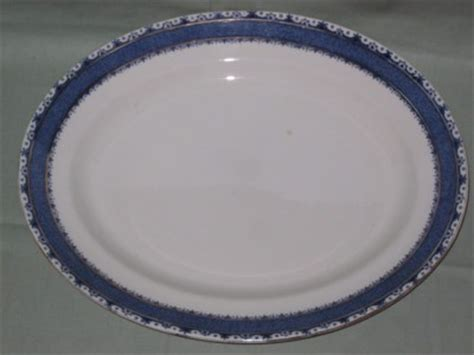burleigh pattern numbers burleigh ware sandon 14 quot oval serving plate or platter